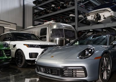 Winter storage for luxury cars