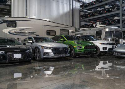Car and truck indoor storage
